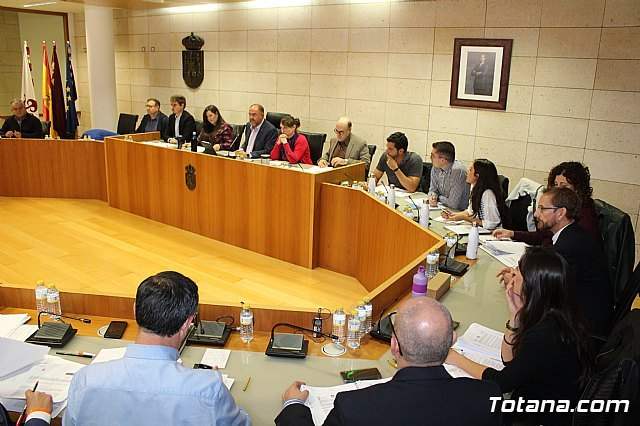 The municipal Plenary Session of Totana is committed to promoting a package of measures that will allow the current situation of progressive deterioration of the Mar Menor to be reversed, Foto 1