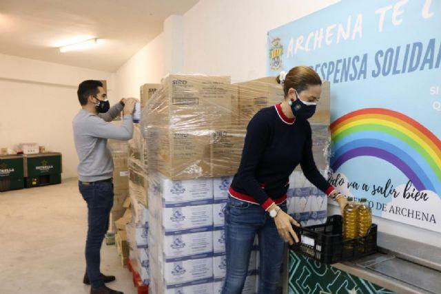La Despensa Solidaria de Archena se recarga con 10.000 kilos más de alimentos - 1, Foto 1