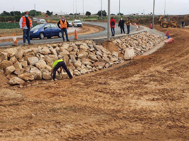 Reparan los daños ocasionados por la Dana del pasado año en la circunvalación de Torre Pacheco - 1, Foto 1