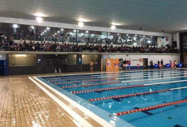 MOVE acogió una competición de natación enmarcada en las fiestas de Santa Eulalia, Foto 1