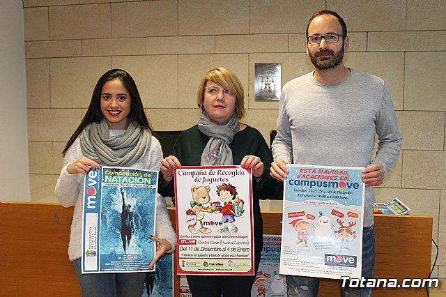 """""""MOVE"""" promueve una campaña de recogida de juguetes del 11 de diciembre al 4 de enero a beneficio de las dos Cáritas, Foto 1"""