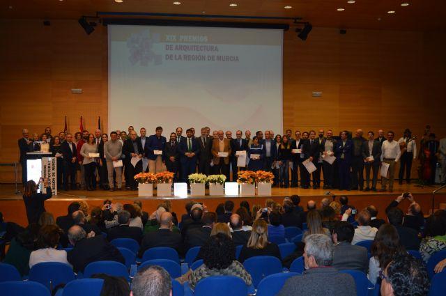 Los Premios de Arquitectura de la Región homenajean la calidad de la edificación y el compromiso de la profesión - 3, Foto 3