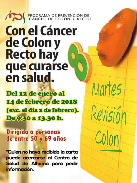 Programa de Prevención de Cáncer de Colon y Recto, Foto 1