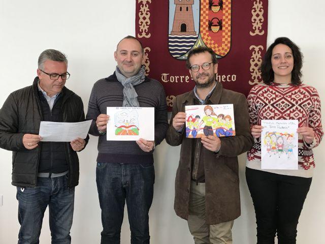 Álvaro Sánchez del colegio Ntra. Sra. del Rosario ganador del primer premio del Concurso de Dibujo Infantil Media Maratón de Torre-Pacheco - 1, Foto 1