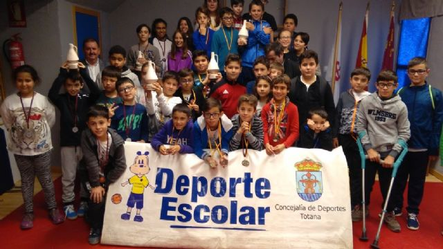 The Local School Sports Chess Phase brought together 57 schoolchildren from the different schools