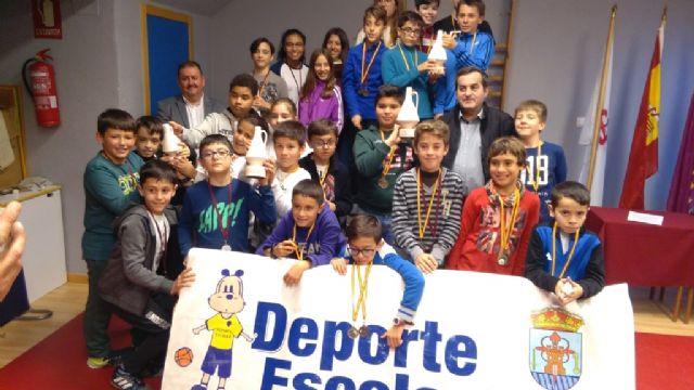 La Fase Local de Ajedrez de Deporte Escolar congregó a 57 escolares de los diferentes centros de enseñanza, Foto 2