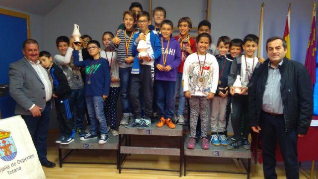 La Fase Local de Ajedrez de Deporte Escolar congregó a 57 escolares de los diferentes centros de enseñanza, Foto 3