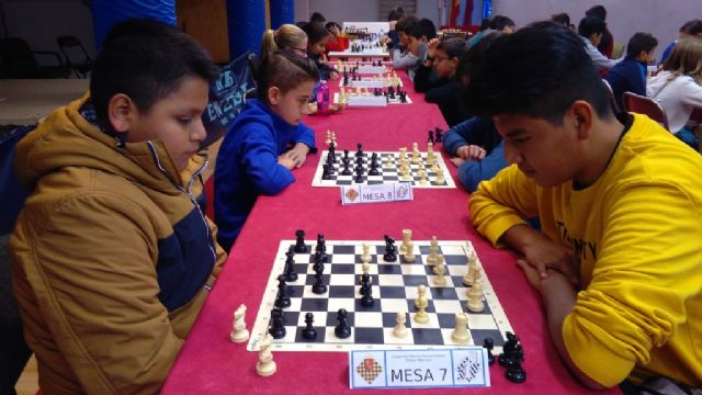 The Local School Sports Chess Phase brought together 57 schoolchildren from the different schools - 7