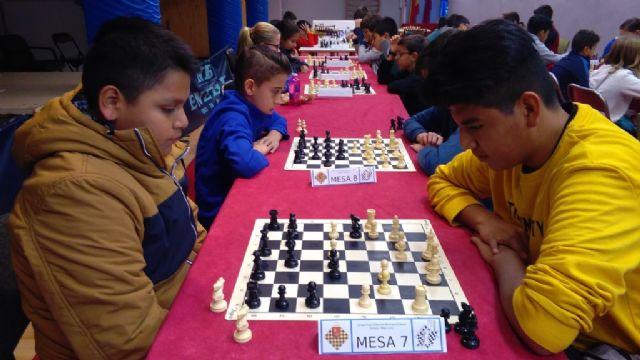 La Fase Local de Ajedrez de Deporte Escolar congregó a 57 escolares de los diferentes centros de enseñanza, Foto 7