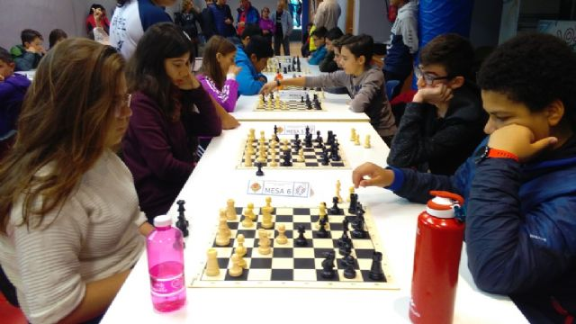 La Fase Local de Ajedrez de Deporte Escolar congregó a 57 escolares de los diferentes centros de enseñanza, Foto 8
