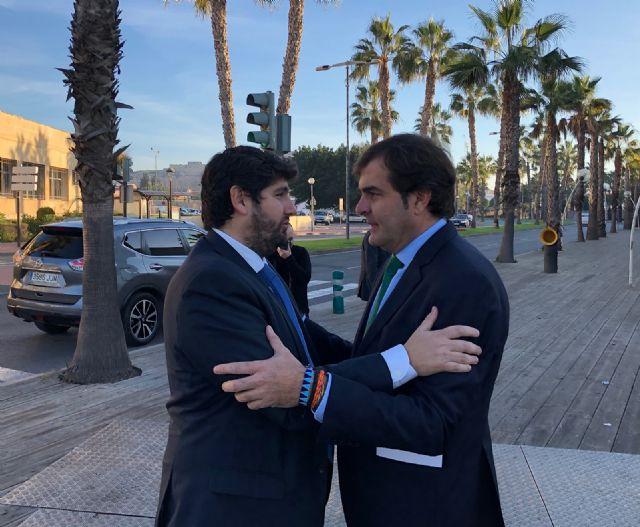López Miras reafirma su compromiso para impulsar y consolidar el enorme potencial industrial, agrícola y turístico de Cartagena - 1, Foto 1