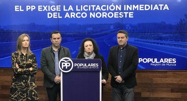 El PP exige al PSOE la inmediata licitación del Arco Noroeste prevista por el Gobierno del PP para el pasado mes de junio - 1, Foto 1