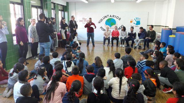 El Colegio San Cristóbal celebra el Día del Voluntariado realizando numerosas actividades solidarias con Down Lorca y Alzheimer Lorca - 1, Foto 1
