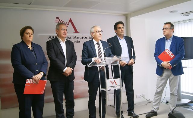 Martínez Baños: El Gobierno regional dibuja en estos presupuestos una Región que no existe - 1, Foto 1