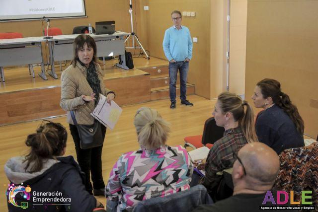 Emprendedores cartageneros asisten a un taller sobre transformación tecnológica de la ADLE - 1, Foto 1