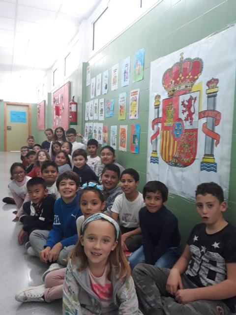 The CEIP La Cruz celebrates the 40th anniversary of the Spanish Constitution - 4