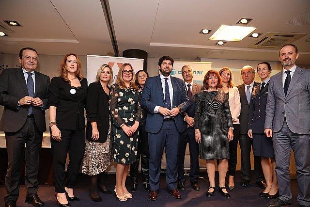 OMEP reúne en el Hotel Agalia a la más nutrida representación de la sociedad murciana para la entrega de sus premios anuales, Foto 1