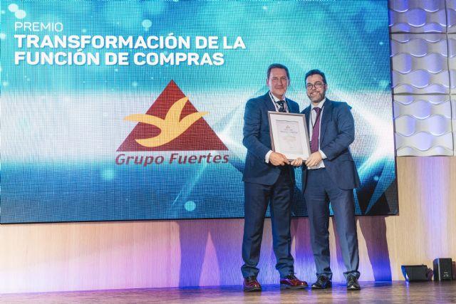 Grupo Fuertes, galardonado con el premio nacional al mejor proyecto de Transformación de Compras 2019, Foto 2