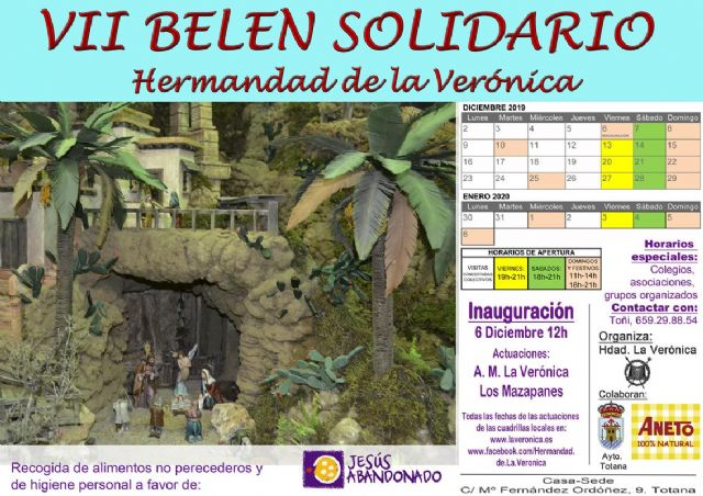 Tomorrow Friday, December 6, the Bethlehem of La Verónica, preamble of Christmas opens, Foto 2