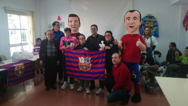 La Peña Barcelonista de Totana solidarity with people with intellectual disability and with mental illness of Totana - 2
