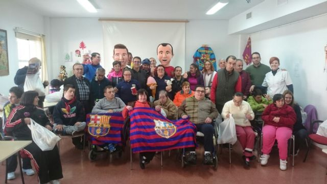 La Peña Barcelonista de Totana solidarity with people with intellectual disability and with mental illness of Totana - 5