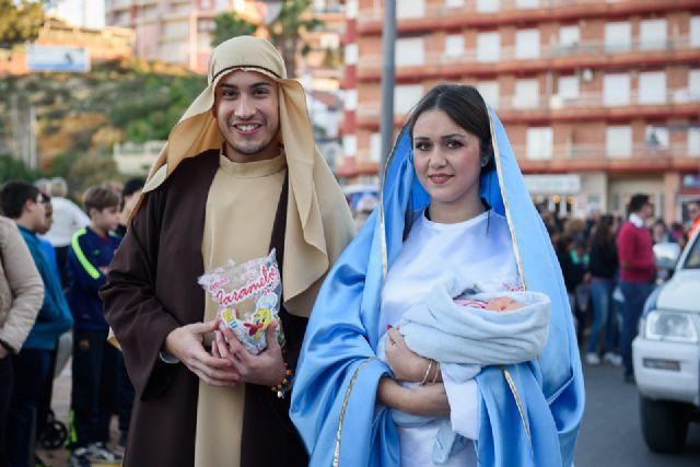 Cabalgata, misa de cuadrillas y auto de Reyes Magos en Mazarrón, Foto 2