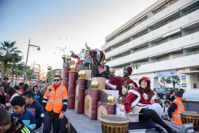 Cabalgata, misa de cuadrillas y auto de Reyes Magos en Mazarrón, Foto 3