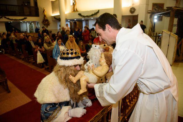 Cabalgata, misa de cuadrillas y auto de Reyes Magos en Mazarrón, Foto 4
