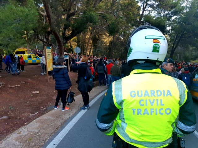 More than 50 troops integrate the safety device of the pilgrimage back from La Santa to its sanctuary, tomorrow, Tuesday, January 7, Foto 2