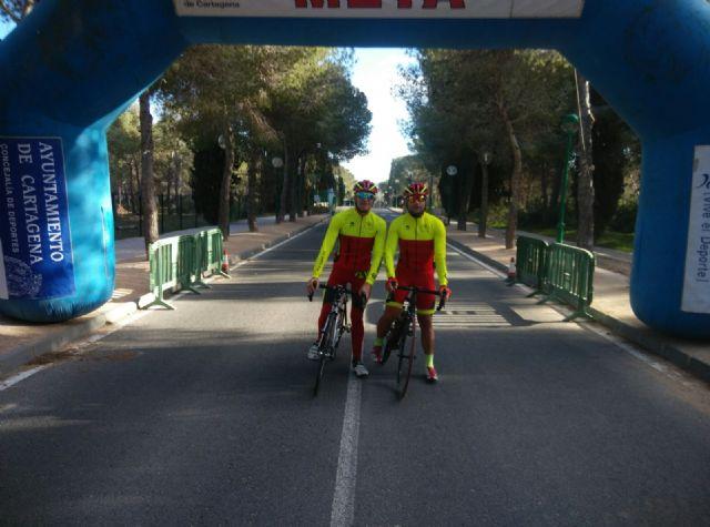 El CC Santa Eulalia estuvo presente en la prueba btt del Buitre en Moratalla, Foto 1