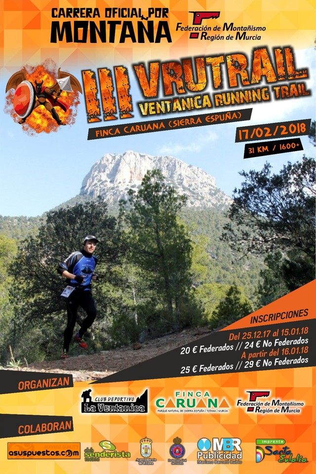 La III VRUTRAIL Ventanica Running Trail tendrá lugar el próximo sábado 17 de febrero, Foto 3