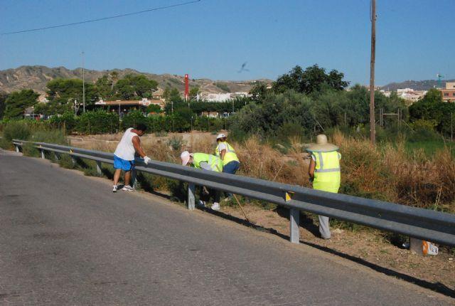 Un total de 58 desempleados agrarios contratados han iniciado esta semana sus labores en diferentes espacios del municipio - 4, Foto 4