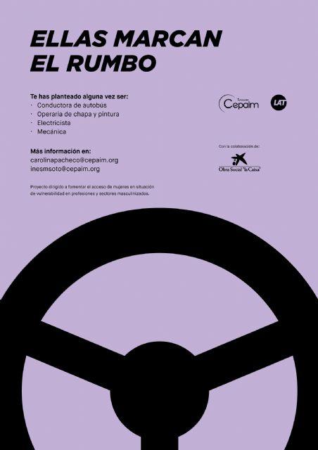 Autobuses LAT y Fundación Cepaim ponen en marcha el programa formativo de inserción laboral 'Ellas marcan el rumbo' - 1, Foto 1