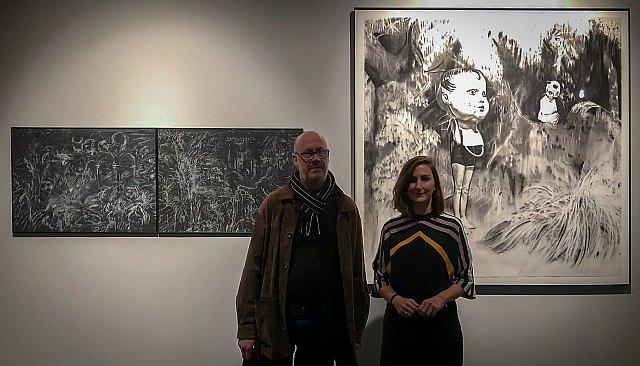 Inaugurada la exposición del XXV Certamen de Dibujo Gregorio Prieto, en el Centro Casa de Vacas de Madrid - 1, Foto 1