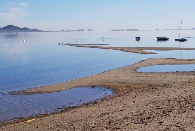 El Ayuntamiento plantea trabajos de urgencia para rebajar secos y evitar más fangos en el Mar Menor - 1, Foto 1