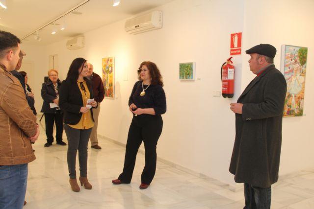 La artista María Elena del Olmo presenta su exposición Naturaleza al desnudo en Puerto Lumbreras - 1, Foto 1