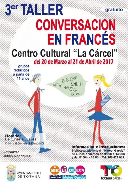 El III Taller de Conversación en Francés para niños y jóvenes se llevará a cabo del 20 de marzo al 21 de abril, Foto 1