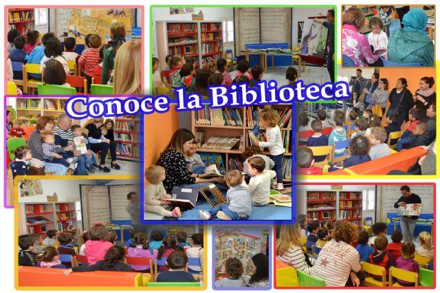 La biblioteca municipal se acerca a las aulas y a la familia  a través del programa conoce tu biblioteca, Foto 1