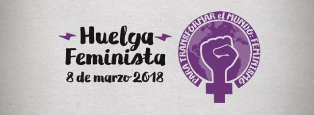 Ganar Totana encourages women to join the feminist strike next Thursday, March 8