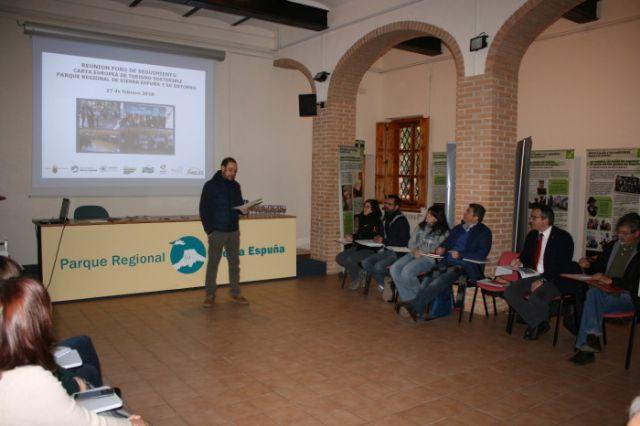 Se reúne el Foro de Seguimiento de la Carta Europea de Turismo Sostenible del Territorio Sierra Espuña, Foto 2
