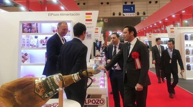 ELPOZO ALIMENTACIÓN participa en Foodex Japón para aumentar su posicionamiento en Asia - 1, Foto 1