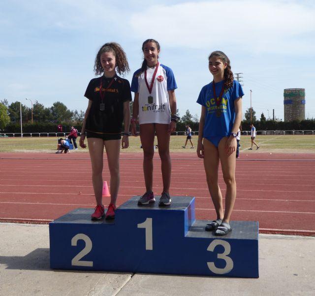 Nueve metales para el Club Atletismo Alhama en el 'Campeonato Sub16 de la Región de Murcia', Foto 2