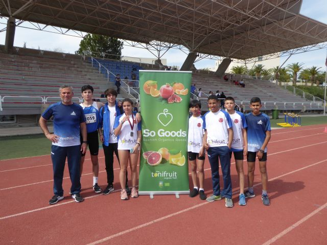 Nueve metales para el Club Atletismo Alhama en el 'Campeonato Sub16 de la Región de Murcia', Foto 3