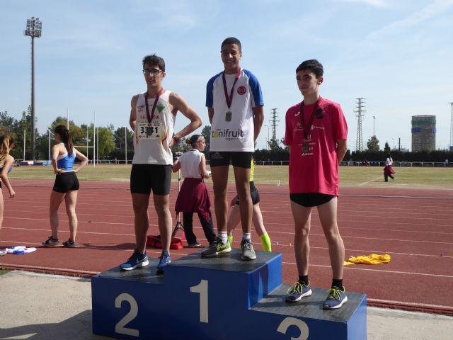 Nueve metales para el Club Atletismo Alhama en el 'Campeonato Sub16 de la Región de Murcia', Foto 4