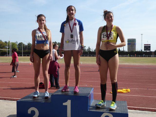 Nueve metales para el Club Atletismo Alhama en el 'Campeonato Sub16 de la Región de Murcia', Foto 5