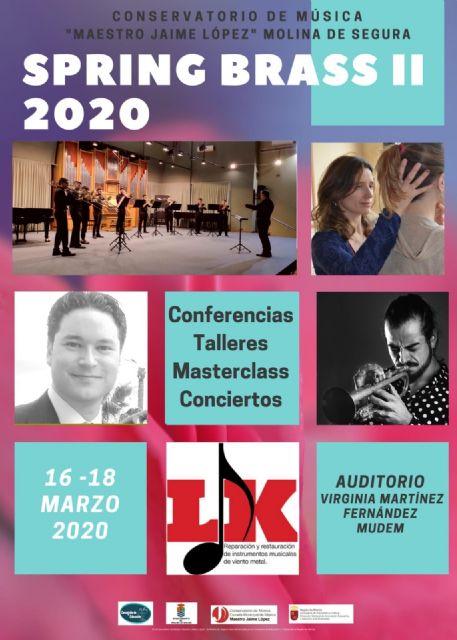 El Conservatorio Profesional de Música Maestro Jaime López de Molina de Segura organiza la II Semana del Metal del 16 al 18 de marzo - 1, Foto 1
