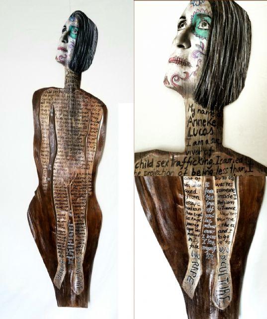 Silvanele presenta dos proyectos escultóricos en el Museo de Belenes del Mundo de Ojós - 1, Foto 1