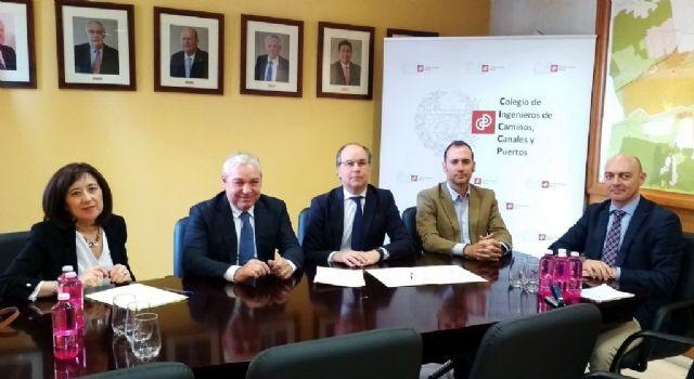 El ayuntamiento de Mazarrón y el colegio de ingenieros de caminos de Murcia firman un convenio para mejorar la asistencia profesional del consistorio en materia de infraestructuras - 1, Foto 1