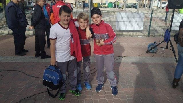 El Colegio Reina Sof�a y el IES Prado Mayor de Totana se proclamaron campeones regionales de Petanca de Deporte Escolar, Foto 5