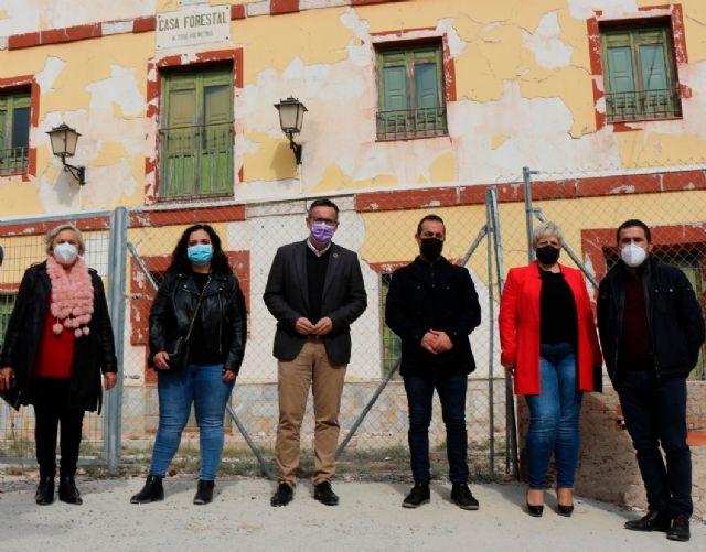 Diego Conesa: El Gobierno regional debe atender la propuesta del Ayuntamiento de Ricote para poner en valor el albergue de La Calera - 2, Foto 2